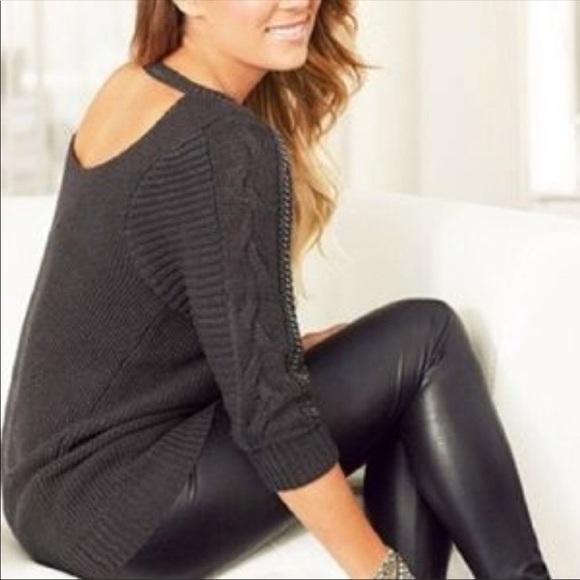 c24d8e34150807 LC Lauren Conrad Pants | Nwt Black Faux Leather Leggings | Poshmark
